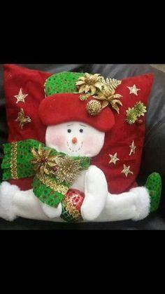 Munequeria Navidena Y Halloween Felt Christmas Ornaments, Christmas Angels, Christmas Snowman, Christmas Home, Christmas Stockings, Christmas Wreaths, Christmas Crafts, Christmas Decorations For The Home, Holiday Decor