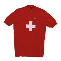 3dbcd58f6 Switzerland 1974 jersey by De Marchi. David Hunter · Classic Cycling Jersey  Designs