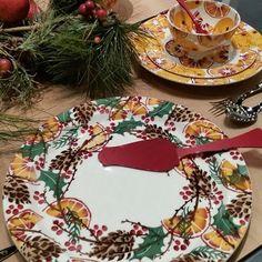 Beautiful #emmabridgewater #christmas #whreath #www.pine-apple.com