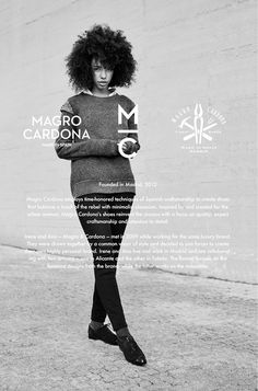 Branding project for Magro Cardona, a Madrid based high end footwear brand founded by Irene Magro & Ana Cardona. MC are known for their unique design which conveys tradition, craft and vanguard. The brand's designs are produced in the true and traditiona…