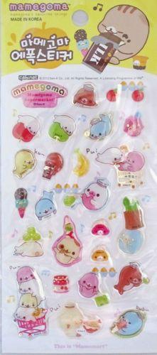 San x Mamegoma Epoxy Sticker Sheet