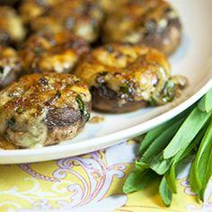 TONS of stuffed mushroom recipes