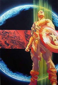 Earth X trade paperback cover by Alex Ross