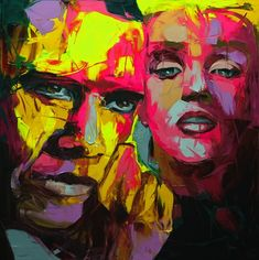 Explosive Colorful Portraits Paintings | Abduzeedo Design Inspiration