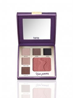 double duty beauty limited-edition eye & cheek palette - sultry starpower -