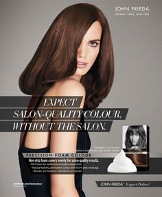 John Frieda HairCare Advertising