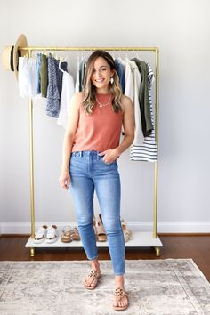 Modest Casual Outfits, Classy Outfits, Nice Outfits, Work Outfits, Petite Outfits, Curvy Outfits, Womens Fashion Casual Summer, Fashion Spring, Women's Fashion