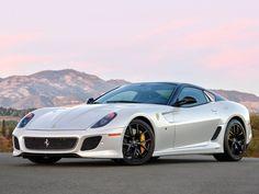 2011 Ferrari 599 GTO - a gentleman's Enzo, apparently. $750,000 - $900,000