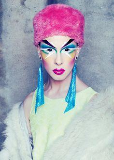 When Makeup Meets Art: Ryan Burke   Beautylish http://www.beautylish.com/a/vxsvs/makeup-artist-ryan-burke