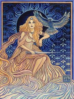 """Minerva - Goddess of Wisdom"" par Emily Balivet"