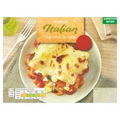 Waitrose vegetable lasagne