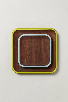 Walnut Plate #anthropologie #anthrofav
