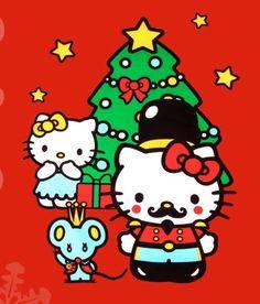 Hk Hello Kitty Art, Hello Kitty My Melody, Hello Kitty Pictures, Sanrio Hello Kitty, Kitty Kitty, Sanrio Wallpaper, Hello Kitty Wallpaper, Sanrio Danshi, Hello Kitty Christmas
