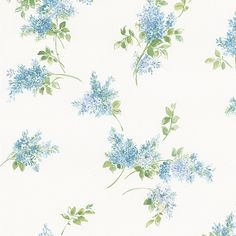 Shop our selection of wallpaper, borders and murals. A wide variety of discount wall coverings and wall art are available at Steve's Blinds & Wallpaper! Kitchen Wallpaper Design, 4 Wallpaper, Wallpaper Designs, Lavender Walls, Wall Borders, Victorian Decor, Wall Art, Pretty, Flowers