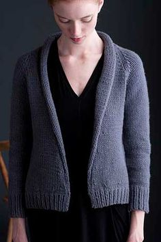 Selvedge cardigan by Amy Christoffers