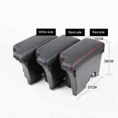 Tonlinker Cover case stickers For VW Volkswagen Polo 2011-17 Car Styling 1 Pcs ABS Plastic Center Handbrake Modified Armrest 1