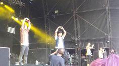 The Wanted no Fusion Festival, em Birmingham, na Inglaterra #CoberturaTWBR (via @sykesjfc)