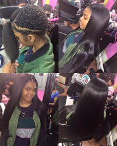 Gorgeous soft!!!! straight hair look good on you !