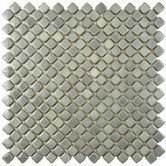 """Found it at Wayfair - Gem 3/4"""" x 3/4"""" Porcelain Mosaic Floor and Wall Tile in Glossy Gray"""