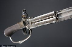 Rich history: The weapon was discovered in a collection of his possessions owned by Lord Nelson's closest friend Alexander Davison