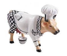 Cow Parade kunstkoe #Chef Cow