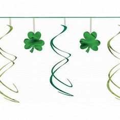 Party Packs stock a fantastic range of quality Shamrock Swirl Garland - 3.65m at everyday low prices. Buy online today. Party Themes, Party Ideas, Party Packs, St Patricks Day, Fancy Dress, Festivals, Party Supplies, Garland, Irish