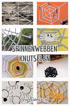 Thema herfst: spinnenweb knutselen Autumn Day, Autumn Theme, Arts And Crafts, Diy Crafts, Fine Motor Skills, Art School, Art Projects, Witch, Activities