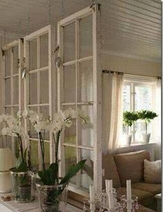 50+ Ideas for Decorating Old Windows_32