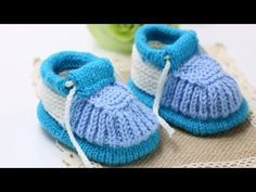 How to Knit Baby Shoes: hiking shoes 1/2 - https://www.youtube.com/watch?v=T9ybvcpIwyc