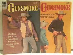 Western comics 20+book lot Dell Gunsmoke Rawhide Rifleman Wyatt Earp Have Gun+++