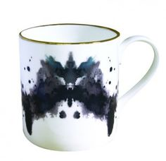 inkblot mug #kitchen #products