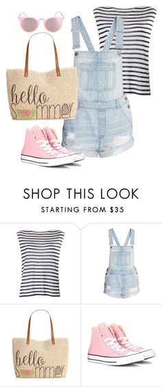 """Untitled #143"" by shannie-chic ❤ liked on Polyvore featuring T By Alexander Wang, Style & Co. and Converse"