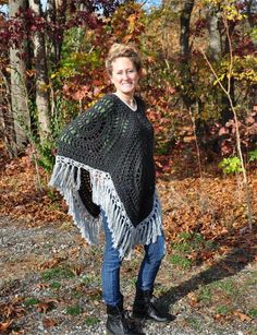 Looking for your next project? You're going to love Bohemian Boho Chic Fringe Poncho by designer quenofroc703511. - via @Craftsy