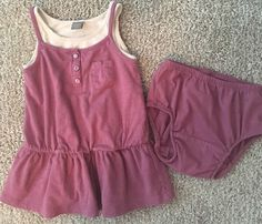BabyGap Baby Toddler Girls Dress Size 12 18mo Purple Gray | eBay