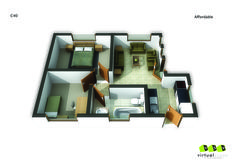 Affordable Unit ,40. Go to website: bit.ly/1hcfKVn #affordablehousing #property #developments