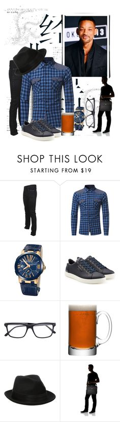 """Untitled #9004"" by princhelle-mack ❤ liked on Polyvore featuring Versace, Ulysse Nardin, Dolce&Gabbana, Bottega Veneta, LSA International, Stacy Adams, Targus, men's fashion and menswear"