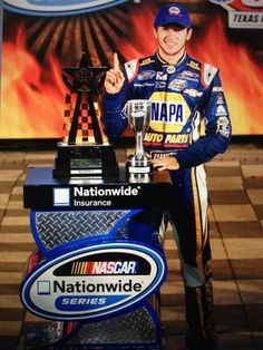 Chase Elliott...NASCAR'S youngest champion in history @ 18 yrs old...