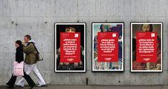 """Carteles para la exposicion """"Camiño. A Orixe"""" #creatividad #branding #publicidad #design"""