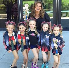 Abby with the Minis