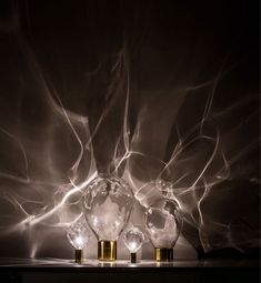 Crystal Lamp that Bring Texture and Create Pattern ripple crystal lamp1