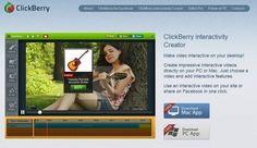 clickberry interactivity creator, para añadir elementos interactivos en nuestros vídeos
