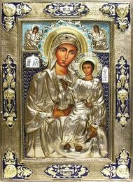 Virgin mary of hodegetria