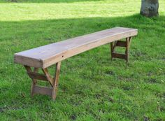 Vintage Folding Wooden School Bench, Retro , boho , Farmhouse, shabby chic by bespokebydionne on Etsy