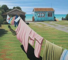 Painting by Tony Ogle, New Zealand