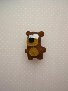 Filtdyr - bjørn - fra bloggen Håndarbejdsom