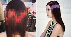 Pixilated hair Color Trends  | Pixelated Hairdos Are The Latest Trend From Spain | DeMilked