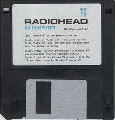 Radiohead. OK Computer, Floppy Disk