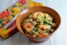 Slow Cooker Shrimp and Artichoke Barley Risotto
