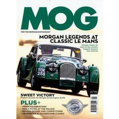 MOG ist ein neues Magazin im praktischen Pocket Format, für alle Morgan Auto Enthusiasten. Dieses erste und einzige Morgan Auto Magazin beschäftigt sich ausschließlich mit der traditionellen britischen Automarke. Offiziell wird MOG durch die Morgan Motor Company unterstützt. Sie liefert die letzten Neuigkeiten und Ansichten direkt aus dem Herzen dieser legendären Automarke.