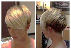 Two Colors Cute Hairstyles